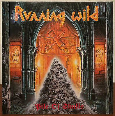 "LP: Running Wild ""Pile Of Skulls"""