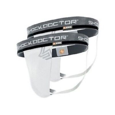 NEW Shock Doctor Core 2-Pack Supporter without Cup Pocket - Large (34-36)