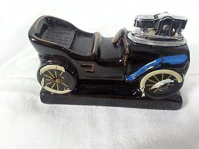 Antique Packard Car Table Lighter Man Cave!!