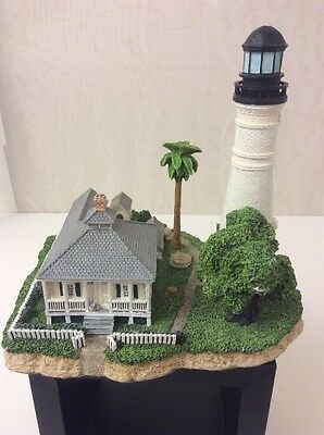 "Harbour Lights Key West Florida 424 Great Lighthouses of the World 6"" X 6"" GUC"