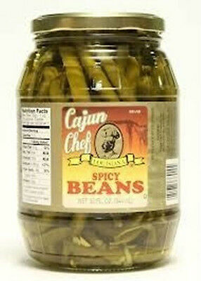 Cajun Chef Spicy Green Beans Large 32 Ounce Jar Free Creole Recipe