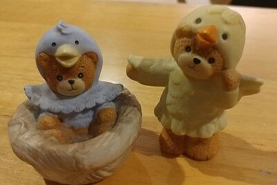 """Lucy Rigg~Lucy and Me Bear """"Blue Bird Nest"""" and Chick costume"""