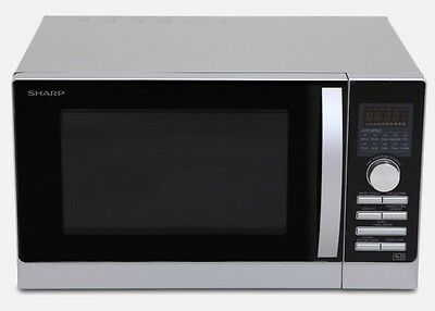 NEW SHARP MICROWAVE OVEN WITH TOP & BOTTOM GRILL AND CONVECTION, Damage Box