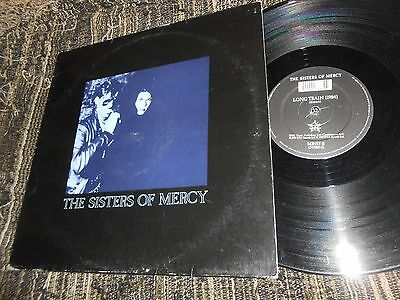 """THE SISTERS OF MERCY Lucretia my reflection/Long Train 12"""" MX 1988 MR45T PROMO"""