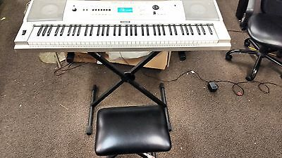 YAMAHA XPG235 KEYBOARD WORKS 76 Key Portable Grand with Proline Chair and Stand