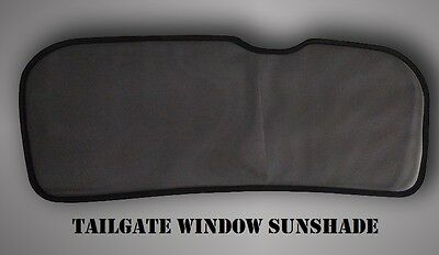 Magnetic Tailgate Window Sun shade, not for individual sale