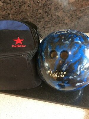 left handed USBC TZone bowling ball 4.6 Kilos With Bag