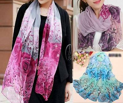 WHOLESALE BULK LOT OF 20 MIXED Style Chiffon Flower print Wrap SCARF/SHAWL sc019