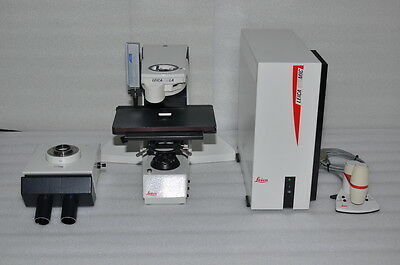 Leica DMLA Binocular compound microscope & CTR MIC Control, Smart Move joystick