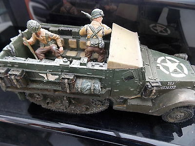 King & Country D Day 44 Series M3 Half Track And Crew Boxed Dd09