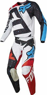 Motocross,enduro,completo Fox 180 Nirv Red/white 2017