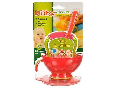 Nuby Garden Fresh Masher & Bowl Set