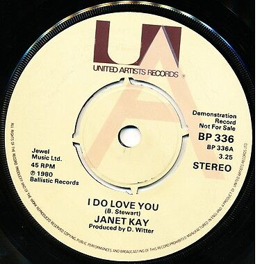 "JANET KAY ""I Do Love You"" b/w D.ROY BAND ""Trench Town Skank (1980) UK Demo"