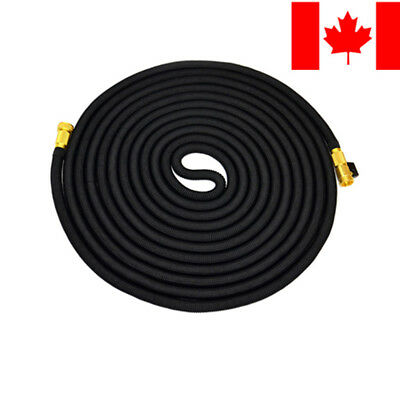 Amazetec® 25 50 75 100 FT Expanding Flexible Garden Water Hose Double Latex