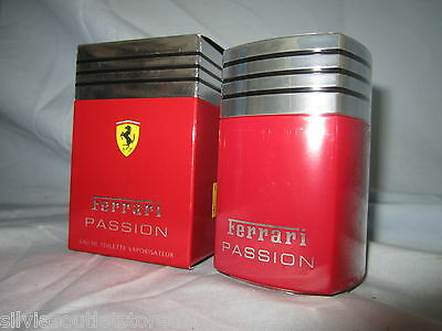 FERRARI PASSION Eau de Toilette Spray EDT 30ml Made in Italy NEU