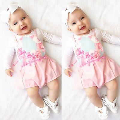 One Pieces Fashion Newborn Baby Kids Girls Floral Romper Jumpsuit Playsuit 0-3Y