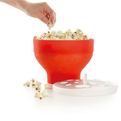 Silicone Microwave Magic Household Popcorn Maker Container Healthy CookingTools
