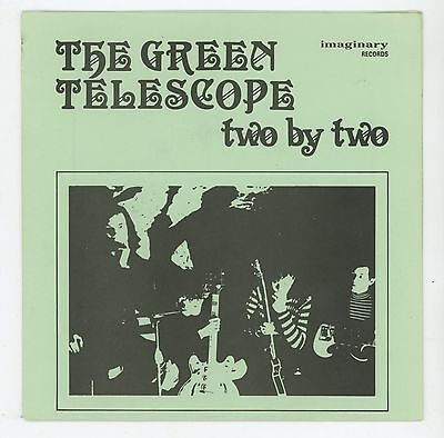 """Great Garage UK: The GREEN TELESCOPE : Two By Two - 7"""" EP - UK 1986 - pre-THANES"""
