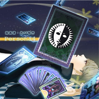 Persona 5 Cosplay Props Destiny Tarot Fortune Telling Cards Table Party Games