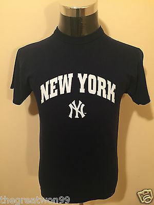 MLB New York Yankees SML Printed Supporters Tee by Russell Athletic