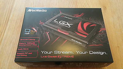 AVerMedia - Live Gamer Extreme (LGX) USB 3.0 Game Capture Card. Record and St...
