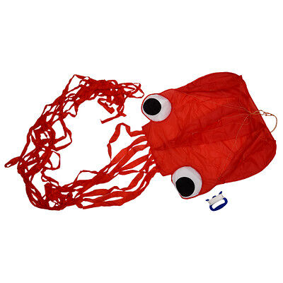 4M Single Line Stunt Red Octopus Power Sport Flying Kite Outdoor Activity Toy PK