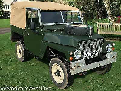 1980 Land Rover Lightweight with 200TDi power+7 seater+new hood