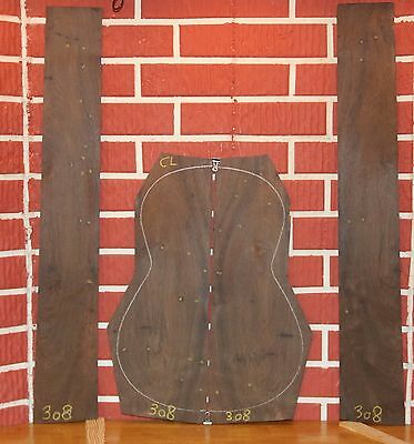 Brazilian Rosewood Product Grade Guitar BACK SIDES CLASSICAL LUTHIER TONEWOOD