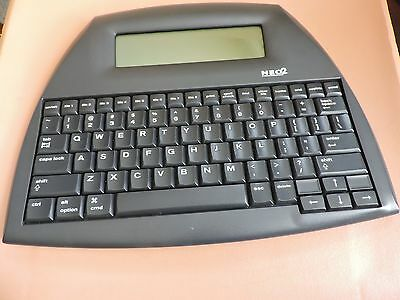 Alphasmart Neo 2 Portable Word Processor, Tested & Works! Uses 3 Aa Batteries!