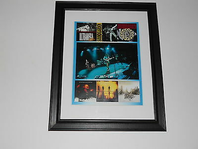 """Framed Soundgarden Album Covers 1988-2012 Superunknown Mini-Poster, 14"""" by 17"""""""