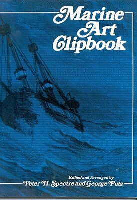 USED (GD) Marine Art Clipbook by Peter H. Spectre