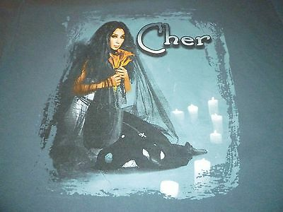 Cher Vintage Tour Shirt ( Used Size L ) Very Good Condition!!!