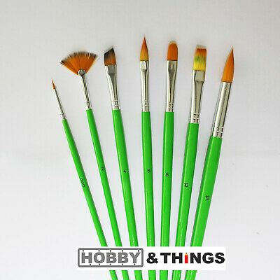 Artist Paint Brushes Set - Acrylic - Water Colour - Oil Painting