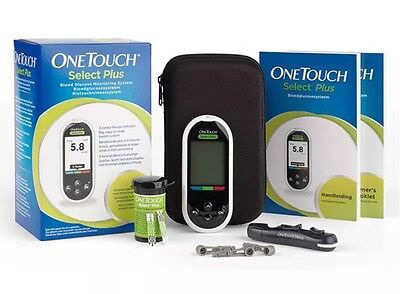 One Touch Select Plus Blood Glucose Meter/Monitor/System - Diabetic - RRP £59.99