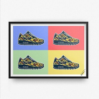 Nike x Roundel Air Max INSPIRED WALL ART Print / Poster A4 A3 nike art ROUNDEL