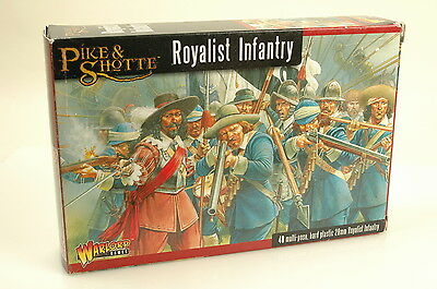 Pike & Shotte Royalist Infantry Wgp-1 Warlord Games