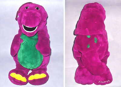 "BARNEY THE DINOSAUR 22"" PYJAMA CASE / HOT WATER BOTTLE COVER Plush Soft Toy"