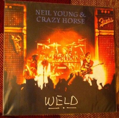 Vinilo Neil Young and the Crazy Horse, weld, 2lps, 1991