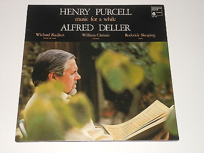 Alfred Deller - LP - PURCELL - Music For A While - Harmonia Mundi HM 249