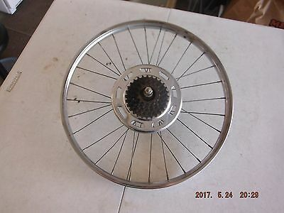 1966 Schwinn Stingray Fastback 5 Speed Chrome Rear Rim Nice Shape L$$K!!!