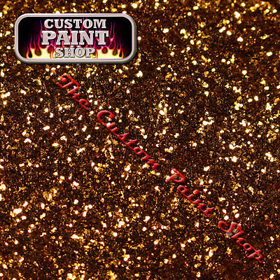 """Metal Flake, Custom Paint SOVEREIGN GOLD 50grams Small (100micron 0.004"""")"""