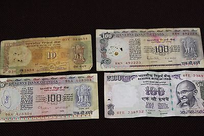 India old banknotes collection