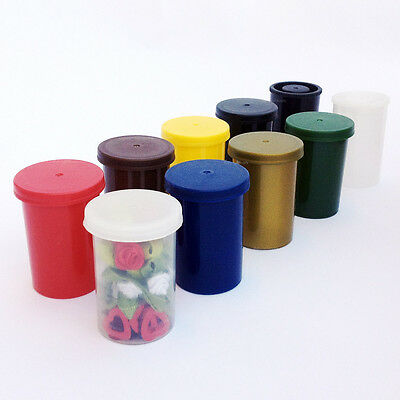 CHOOSE 9 Colours 1 5 10 20 30 100 x Film canisters containers pots tubs can box