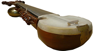 New Classical Professional Sarod Strings Instrument Metal Thumba Pre-Insured