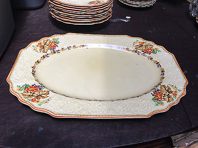 "Myott Staffordshire china 14 3/4"" Serving Platter fh2909 pattern"