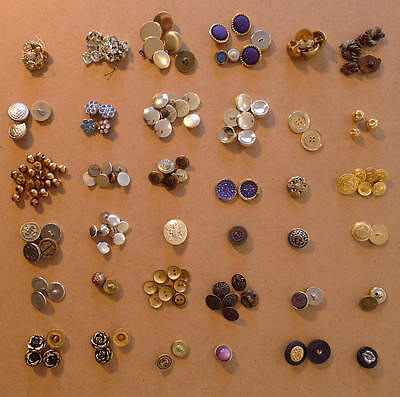 Vintage Buttons (Great for Steampunk / Cosplay Accessories)