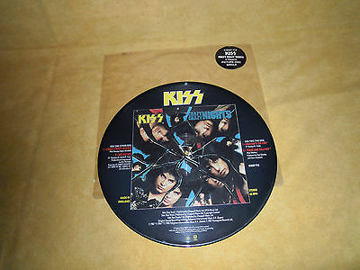 Kiss - Crazy Crazy Nights - Vinile Picture Disc 12""