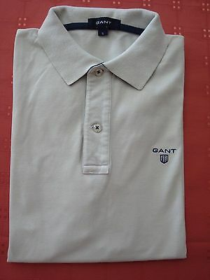 Polo Gant Manches Courtes Taille S
