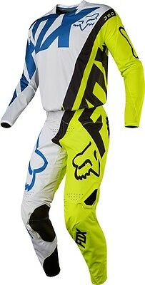Motocross,enduro,completo Fox 360 Creo Yellow-White 2017