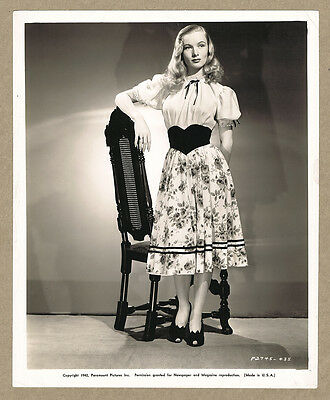 Veronica Lake '42 Original Photo This Gun For Hire Film Noir Paramount Lanz